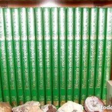 Diccionarios de segunda mano: DICCIONARIO ENCICLOPEDICO LAROUSSE COMPLETO, 16 TOMOS, COMO NUEVO. Lote 195187490