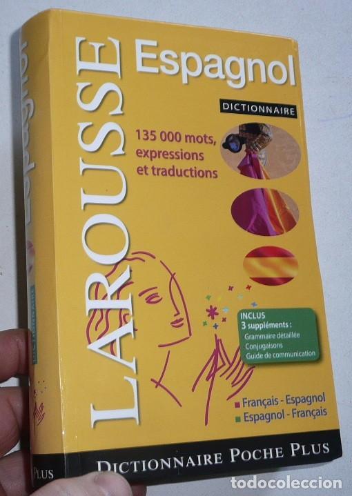 DICTIONNAIRE LAROUSSE POCHE PLUS ESPAGNOL-FRANÇAISE (2007) (Libros de Segunda Mano - Diccionarios)