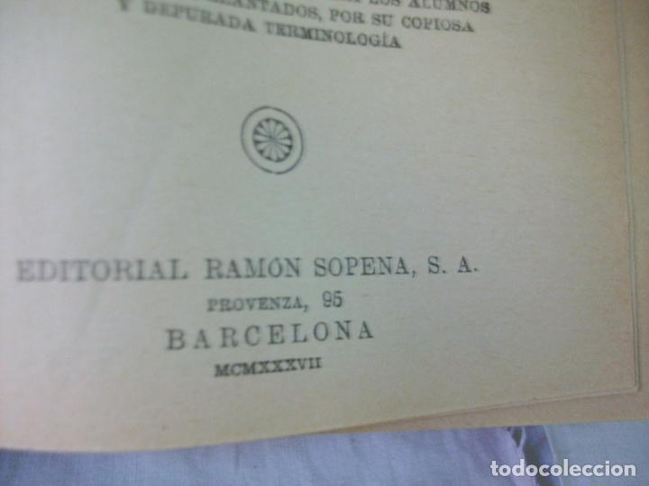 Diccionarios de segunda mano: DICCIONARIO ILUSTRADO DE LA LENGUA ESPAÑOLA-ARISTOS-1937 - Foto 7 - 195279098
