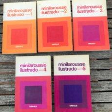 Diccionarios de segunda mano: MINILAROUSSE ILUSTRADO, NºS. 1, 2, 3, 4 Y 5. CÍRCULO DE LECTORES, AÑO 1984. VER FOTOS . Lote 195328202