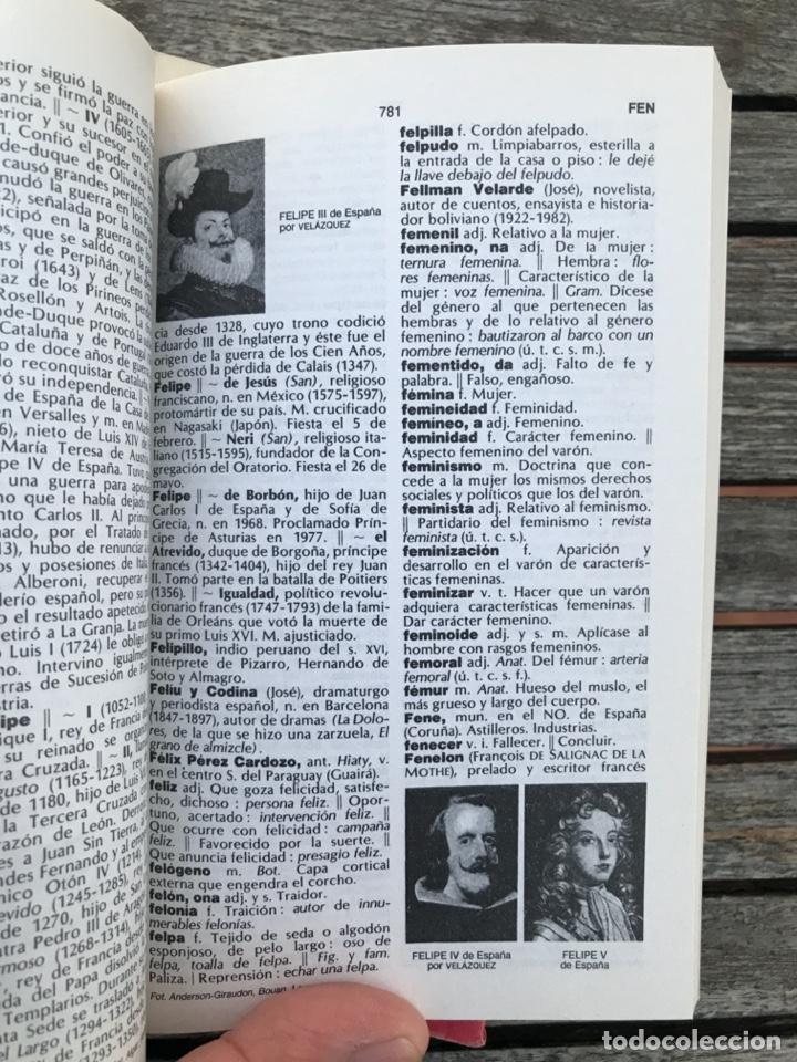 Diccionarios de segunda mano: MINILAROUSSE ILUSTRADO, NºS. 1, 2, 3, 4 Y 5. CÍRCULO DE LECTORES, AÑO 1984. VER FOTOS - Foto 5 - 195328202