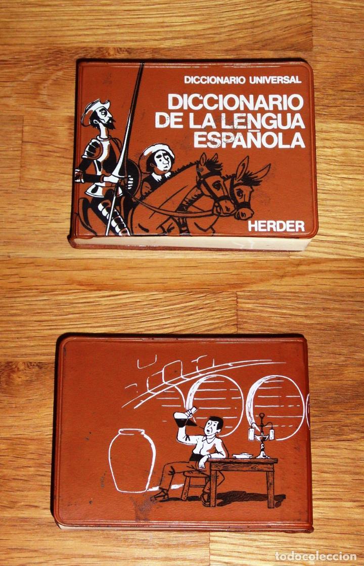 DICCIONARIO DE LA LENGUA ESPAÑOLA (DICCIONARIO UNIVERSAL HERDER) (Libros de Segunda Mano - Diccionarios)