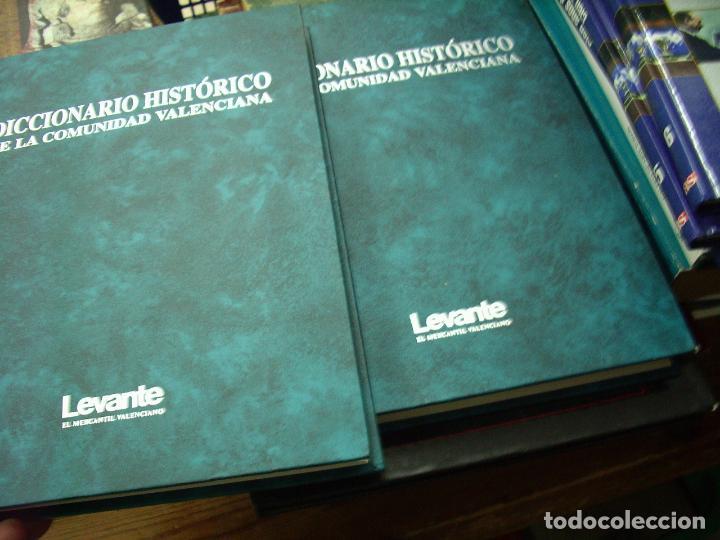 DICCIONARIO HISTÓRICO DE LA COMUNIDAD VALENCIANA (DOS TOMOS). EP-334 (Libros de Segunda Mano - Diccionarios)