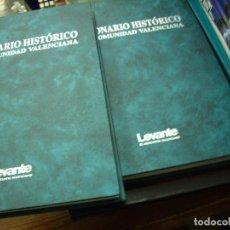 Diccionarios de segunda mano: DICCIONARIO HISTÓRICO DE LA COMUNIDAD VALENCIANA (DOS TOMOS). EP-334. Lote 195371805