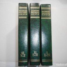Diccionarios de segunda mano: ELADIO RODRIGUÉZ GONZÁLEZ DICCIONARIO ENCICLOPÉDICO GALLEGO-CASTELLANO (EN TRES TOMOS) Y99021T. Lote 195472090