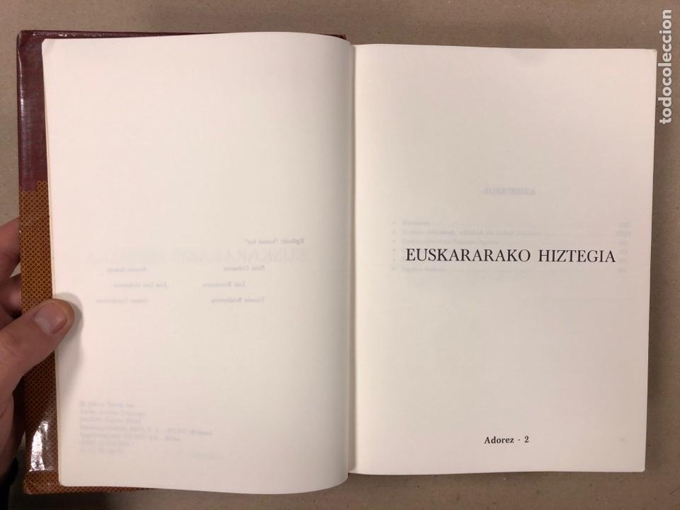 Diccionarios de segunda mano: EUSKARARAKO HIZTEGIA. ADOREZ-2 (1987). DICCIONARIO EUSKERA. - Foto 3 - 195968568