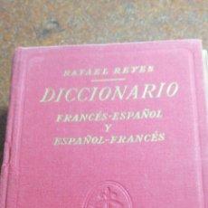 Diccionarios de segunda mano: ANTIGUO DICCIONARIO DE FRANCÉS AÑO 1969. Lote 196202875