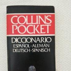 Diccionarios de segunda mano: DICCIONARIO ESPAÑOL-ALEMAN. COLLINS POCKET. GRIJALBO. Lote 196459828