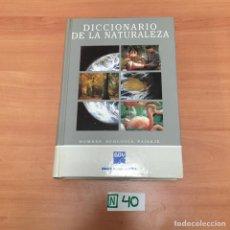 Diccionarios de segunda mano: DICCIONARIO DE LA NATURALEZA. Lote 196931092