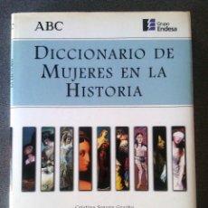 Diccionarios de segunda mano: DICCIONARIO DE MUJERES EN LA HISTORIA CRISTINA SEGURA GRAÍÑO. Lote 197635913