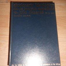 Livros em segunda mão: DICCIONARIO IDEOLOGICO DE LA LENGUA ESPAÑOLA - JULIO CASARES. Lote 197908228