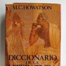 Diccionarios de segunda mano: DICCIONARIO DE LA LITERATURA CLÁSICA - M.C. HOWATSON - ALIANZA. Lote 198048316