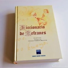Livros em segunda mão: DICCIONARIO DE REFRANES - LUIS JUNCEDA - ESPASA/CALPE - BBV 1995 / ILUSTRADO. Lote 198135988