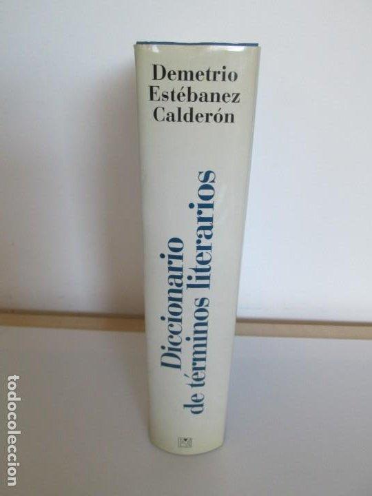 Diccionarios de segunda mano: DICCIONARIO DE TERMINOS LITERARIOS. DEMETRIO ESTEBANEZ CALDERON. EDITORIAL ALIANZA. 1996 - Foto 2 - 198321255