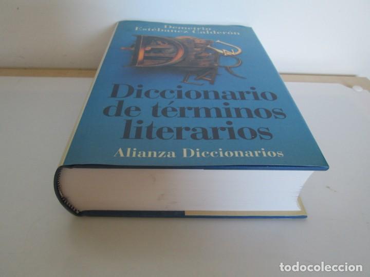 Diccionarios de segunda mano: DICCIONARIO DE TERMINOS LITERARIOS. DEMETRIO ESTEBANEZ CALDERON. EDITORIAL ALIANZA. 1996 - Foto 3 - 198321255