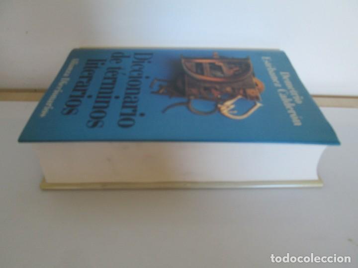 Diccionarios de segunda mano: DICCIONARIO DE TERMINOS LITERARIOS. DEMETRIO ESTEBANEZ CALDERON. EDITORIAL ALIANZA. 1996 - Foto 4 - 198321255