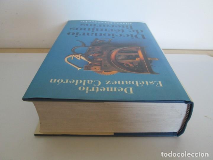 Diccionarios de segunda mano: DICCIONARIO DE TERMINOS LITERARIOS. DEMETRIO ESTEBANEZ CALDERON. EDITORIAL ALIANZA. 1996 - Foto 5 - 198321255