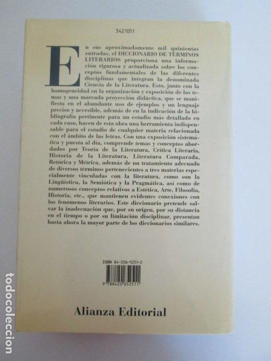 Diccionarios de segunda mano: DICCIONARIO DE TERMINOS LITERARIOS. DEMETRIO ESTEBANEZ CALDERON. EDITORIAL ALIANZA. 1996 - Foto 16 - 198321255