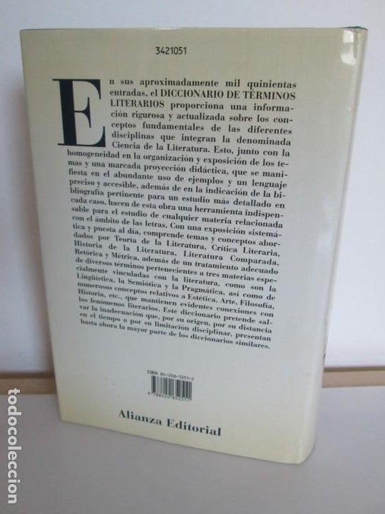 Diccionarios de segunda mano: DICCIONARIO DE TERMINOS LITERARIOS. DEMETRIO ESTEBANEZ CALDERON. EDITORIAL ALIANZA. 1996 - Foto 17 - 198321255