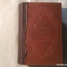 Diccionarios de segunda mano: CUYAS DICCIONARIO, INGLÉS-ESPAÑOL, SPANISH-ENGLISH. QUINTA EDICIÓN, 1939. Lote 198572127