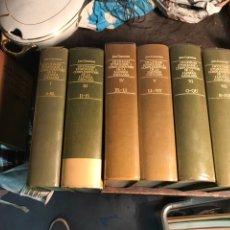 Diccionarios de segunda mano: DICCIONARI ETIMOLOGIC I COMPLEMENTARI DE LA LLENGUA CATALANA. 6 VOLUMENES. Lote 198943236