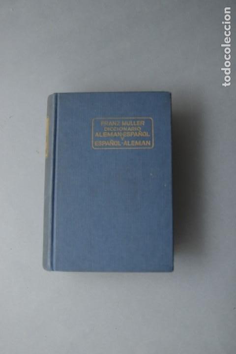 Diccionarios de segunda mano: DICIONARIO ALEMAN - ESPAÑOL Y ESPAÑOL ALEMÁN - FRANZ MULLER EDITORIAL RAMÓN SOPENA 1959 - Foto 2 - 199520528