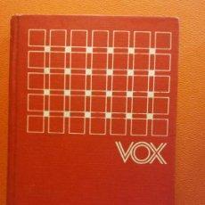 Diccionarios de segunda mano: DICCIONARIO INICIAL LENGUA ESPAÑOLA. VOX. EDITORIAL BIBLOGRAF S.A.. Lote 199742482