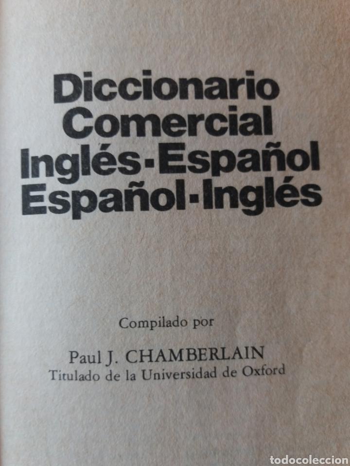 Diccionarios de segunda mano: Diccionario comercial inglés español - Foto 2 - 202681135