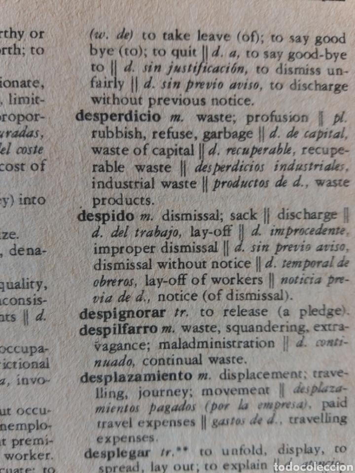 Diccionarios de segunda mano: Diccionario comercial inglés español - Foto 5 - 202681135