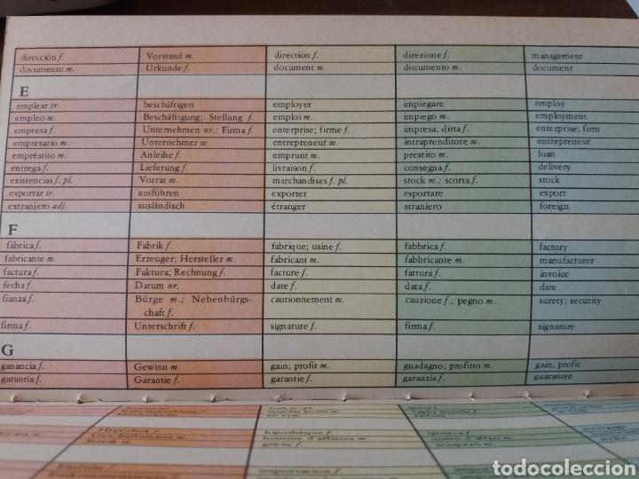 Diccionarios de segunda mano: Diccionario comercial inglés español - Foto 6 - 202681135