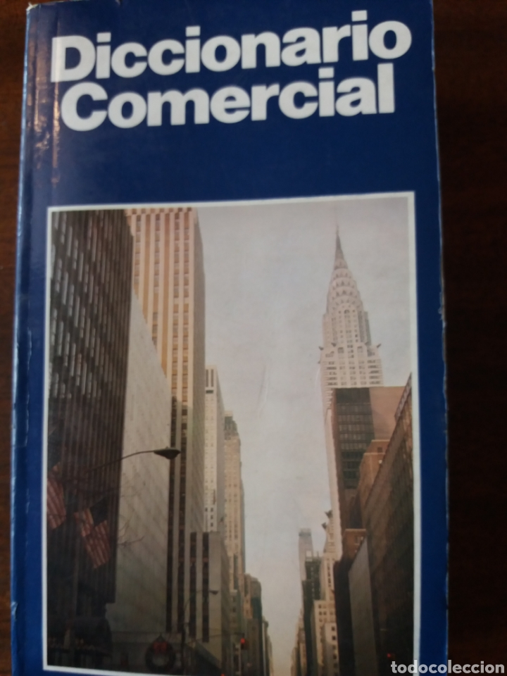 DICCIONARIO COMERCIAL INGLÉS ESPAÑOL (Libros de Segunda Mano - Diccionarios)