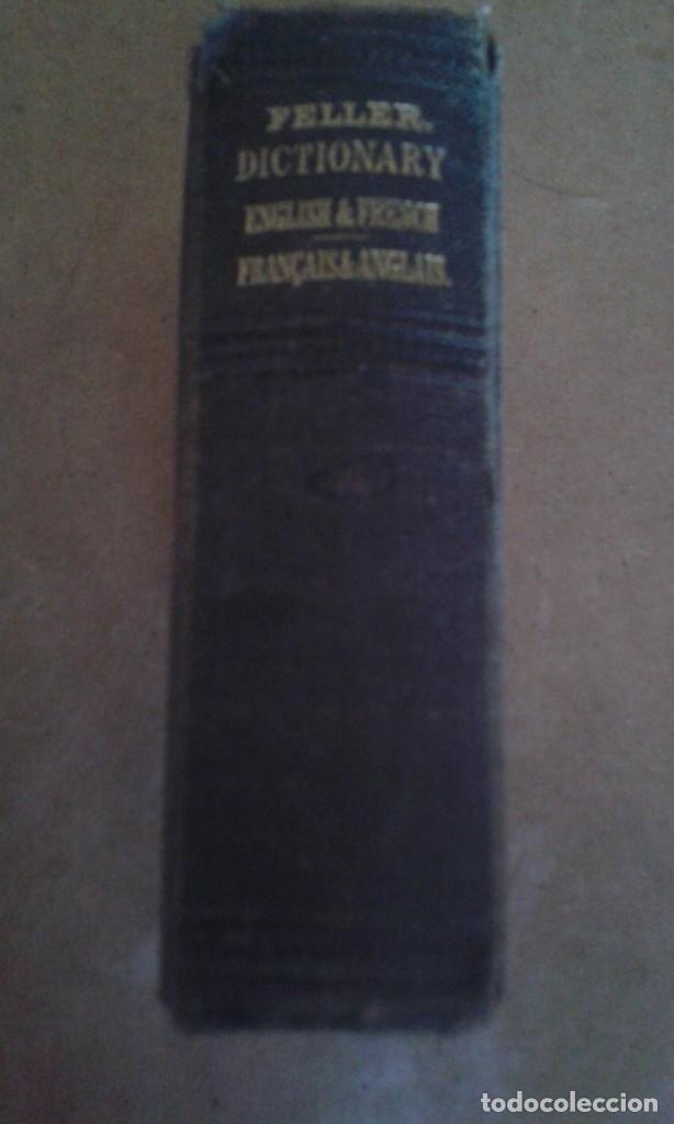 ANTIGUO DICCIONARIO INGLES FRANCES (Libros de Segunda Mano - Diccionarios)