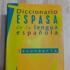 Diccionarios de segunda mano: DICCIONARIO ESPASA DE LA LENGUA ESPAÑOLA,AÑO 98. Lote 203194997