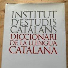 Diccionarios de segunda mano: DICCIONARI DE LA LLENGUA CATALANA. Lote 203573325