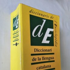 Diccionarios de segunda mano: DICCIONARI DE LA LLENGUA CATALANA - ENCICLOPEDIA CATALANA 1994 - 77.000 ENTRADES. Lote 203839881