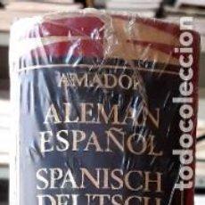 Diccionarios de segunda mano: DICCIONARIO ALEMÁN-ESPAÑOL SPANISCH-DEUTSCH SOPENA (AMADOR 1978) RETRACTILADO. Lote 295843113