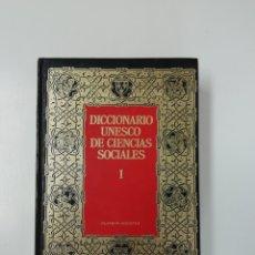 Diccionarios de segunda mano: DICCIONARIO UNESCU DE CIENCIAS SOCIALES (I). Lote 205346877