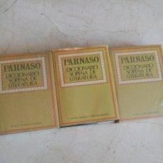 Diccionarios de segunda mano: PARNASO DICCIONARIO DE LITERATURA SOPENA NUEVOS. Lote 205813216