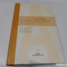 Diccionarios de segunda mano: VV.AA DICIONARIO GALAXIA DE USOS E DIFICULTADES DA LINGUA GALEGA (GALLEGO) Q879W. Lote 207072166