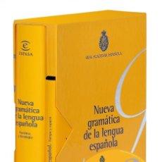 Diccionarios de segunda mano: NUEVA GRAMÁTICA DE LA LENGUA ESPAÑOLA FONÉTICA Y FONOLOGÍA. Lote 207076957