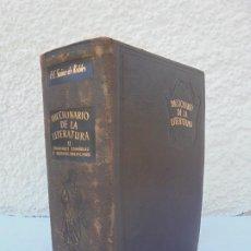 Diccionarios de segunda mano: DICCIONARIO DE LA LITERATURA. T-II. ESCRITORES ESPAÑOLES E HISPANOAMERICANOS. F.C. SAINZ DE ROBLES. Lote 207213213