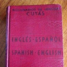 Diccionarios de segunda mano: DICCIONARIO DE LENGUA CUYAS. INGLÉS-ESPAÑOL. HYMSA 1.955. Lote 207859280