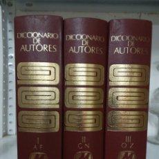 Diccionarios de segunda mano: DICCIONARIO DE AUTORES _MONTANER Y SIMON-E TOMOS ,OBRA COMPLETA. Lote 208077183