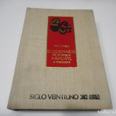 Diccionarios de segunda mano: RÉMI SIMÉON DICCIONARIO DE LA LENGUA NAHUALTL O MEXICANA Q1242WAM. Lote 208465133