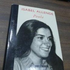 Livros em segunda mão: PAULA. ISABEL ALLENDE. PLAZA & JANES. 1994.. Lote 208809526