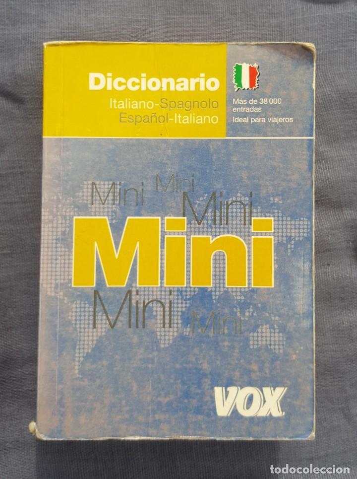 DICCIONARIO MINI: ITALIANO - SPAGNOLO, ESPAÑOL - ITALIANO (Libros de Segunda Mano - Diccionarios)