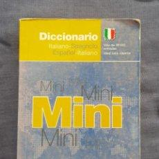 Diccionarios de segunda mano: DICCIONARIO MINI: ITALIANO - SPAGNOLO, ESPAÑOL - ITALIANO. Lote 209167466
