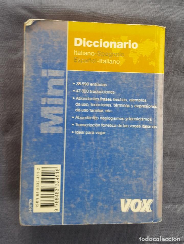 Diccionarios de segunda mano: Diccionario Mini: Italiano - Spagnolo, Español - Italiano - Foto 2 - 209167466