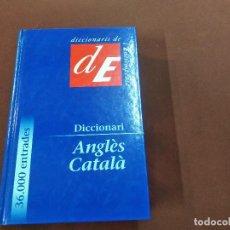 Livros em segunda mão: DICCIONARI ANGLÈS CATALÀ - ENCICLOPÈDIA CATALANA - DIB. Lote 209245542