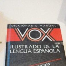Libri di seconda mano: G-9 DICCIONARIO VOX ILUSTRADO DE LA LENGUA ESPAÑOLA. Lote 224649812